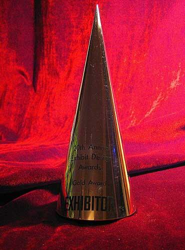 Exhibitor Magazine Gold Design Award