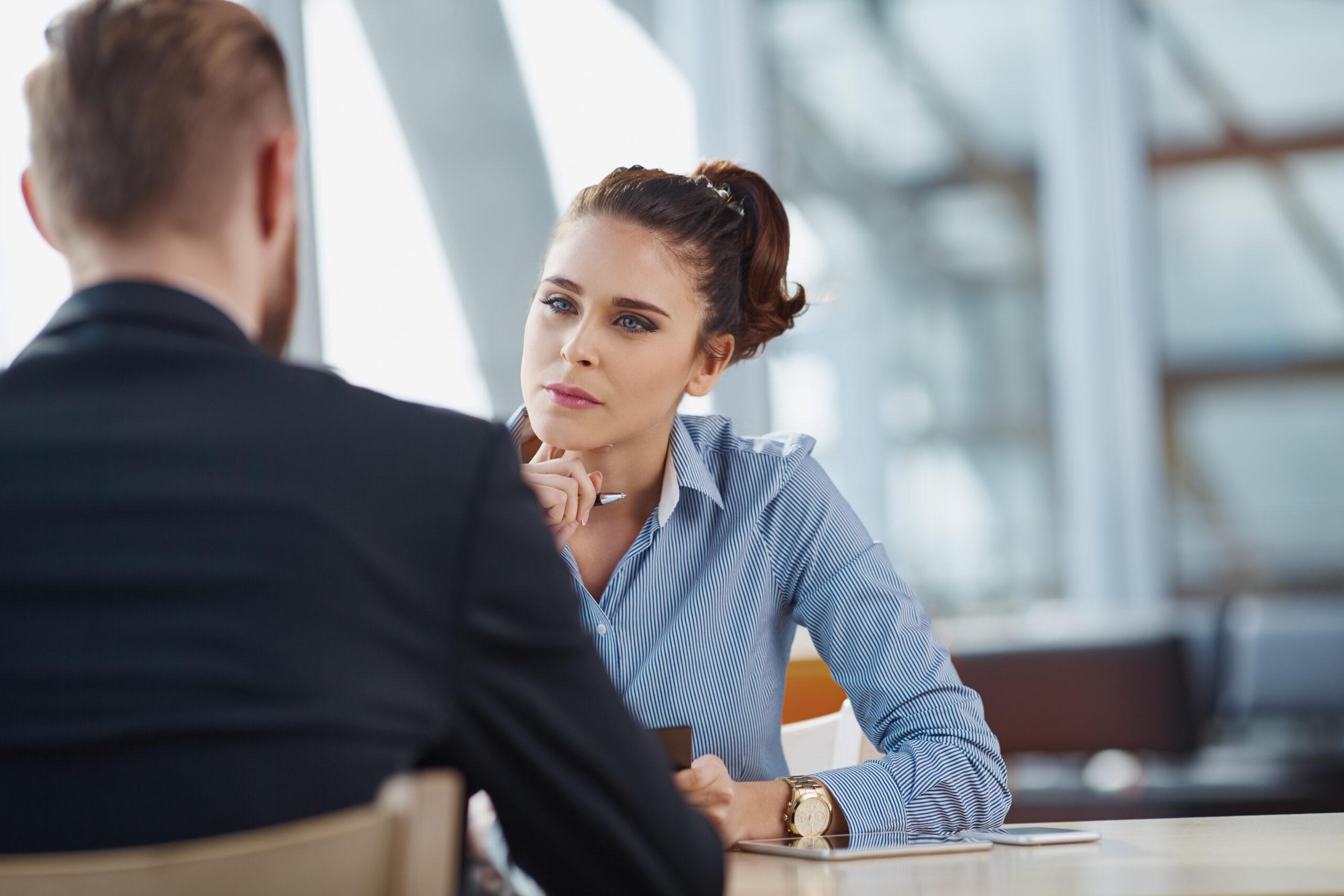 Job,Interview,Recruiter,Listen,To,Candidate
