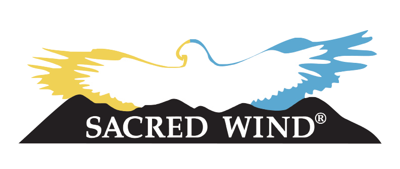 Sacred Wind Trademarked Logo PNG