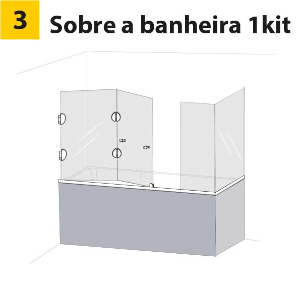 box-articulado-de-vidro-frontal-banheira-com-vidro-lateral