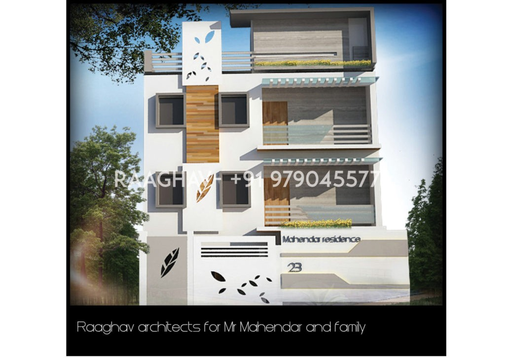aplusr modern elevation contemporary design