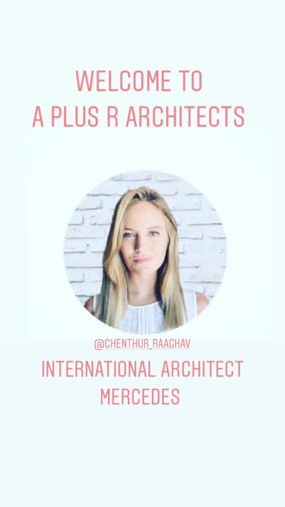 international architect working at A plus r Architects