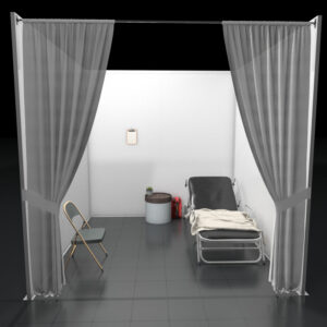 Temporary Healthcare Patient Room