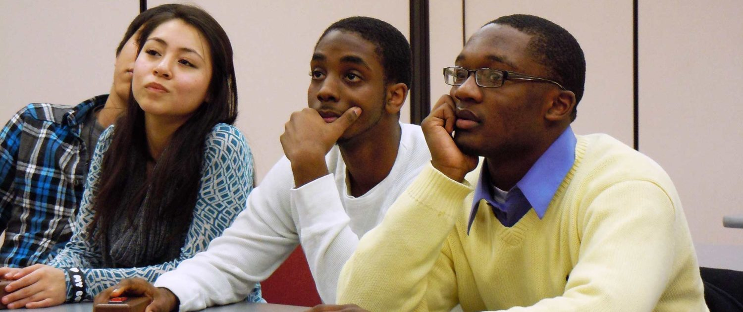 Engaged youth learning financial literacy
