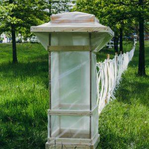 Ghost Fence by John Sundling