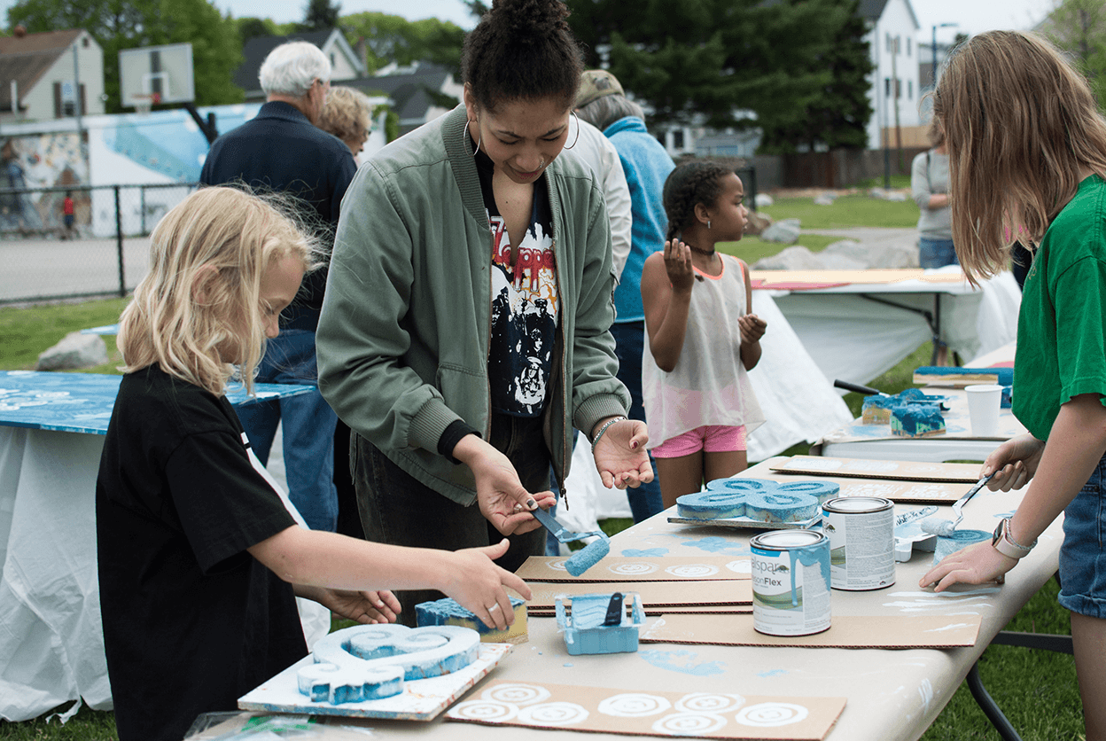 Mother's Garden Community Painting Party