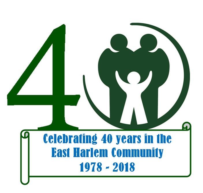 company logo ebbedded in the number 40 signifying settlement health's 40 year anniversary