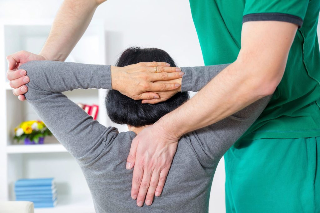 physical therapy helps neck pain