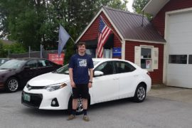New Owner 2013 Toyota Corolla Conor Kiely - Copy