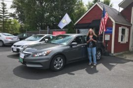 New Owner Janet Hill 2012 Honda Accord SE