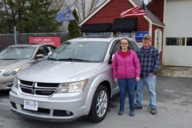 New Owners Dodge Journey Carrie and Dondi Lafountain - Copy
