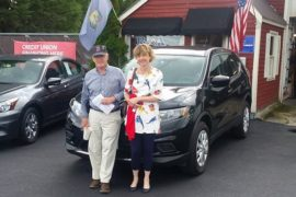 New Owners Nissan Rogue Leigh and David Smith - Copy