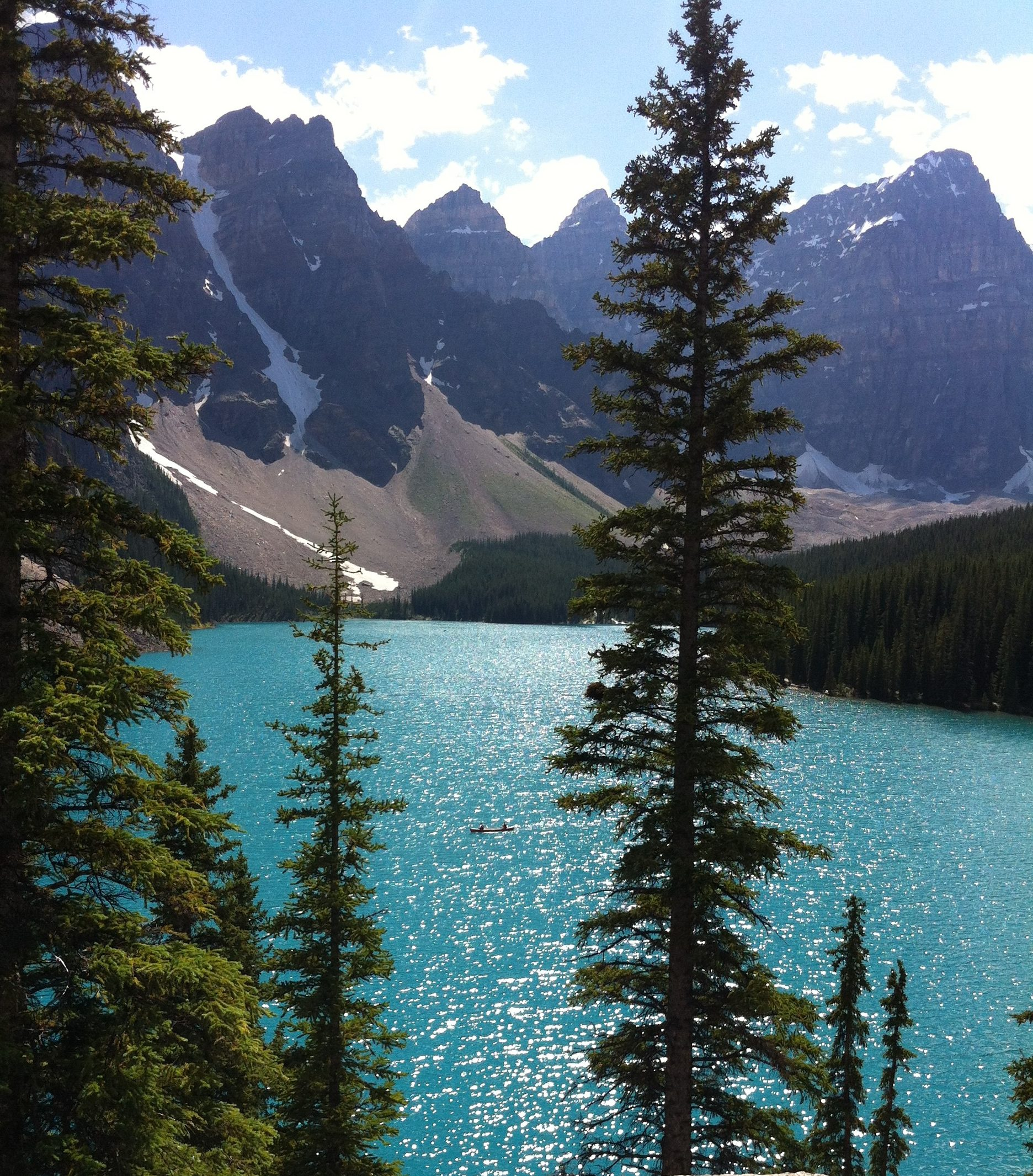 How can anyone look at the amazing landscape of Banff National Park and ever question God's existence?