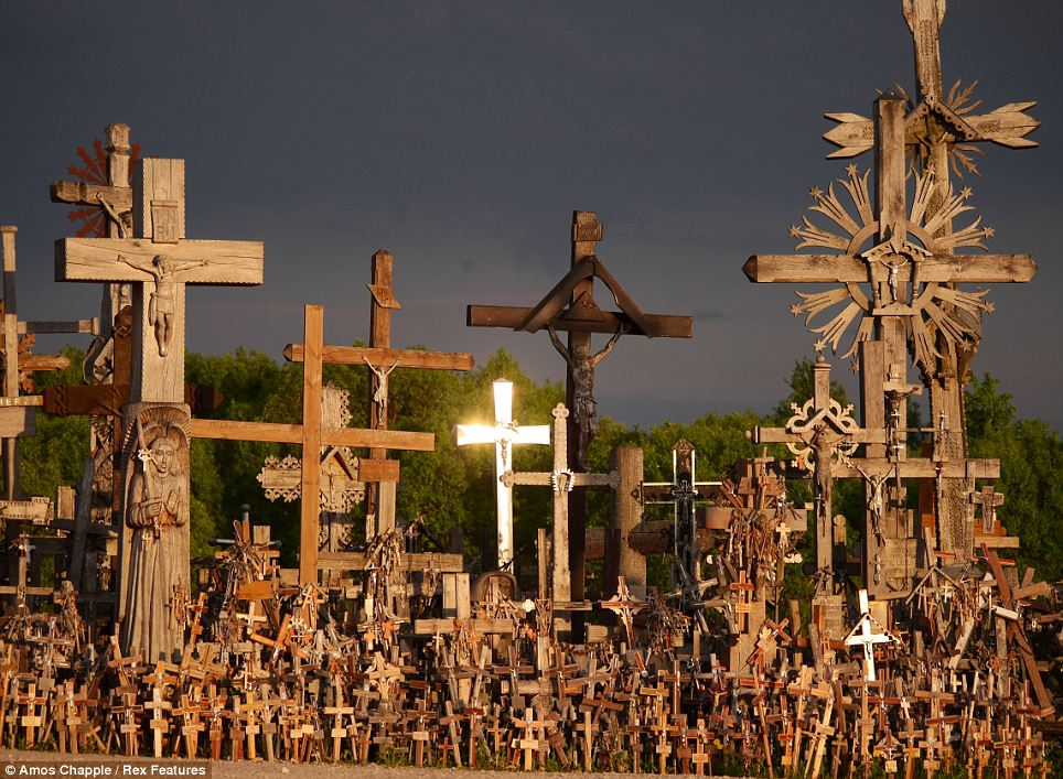"""Crosses, """"Hill Of Crosses"""", Sacred Places"""