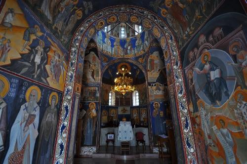 The Orthodox monastery of Ostrog is one of the most frequently visited on the Balkans.