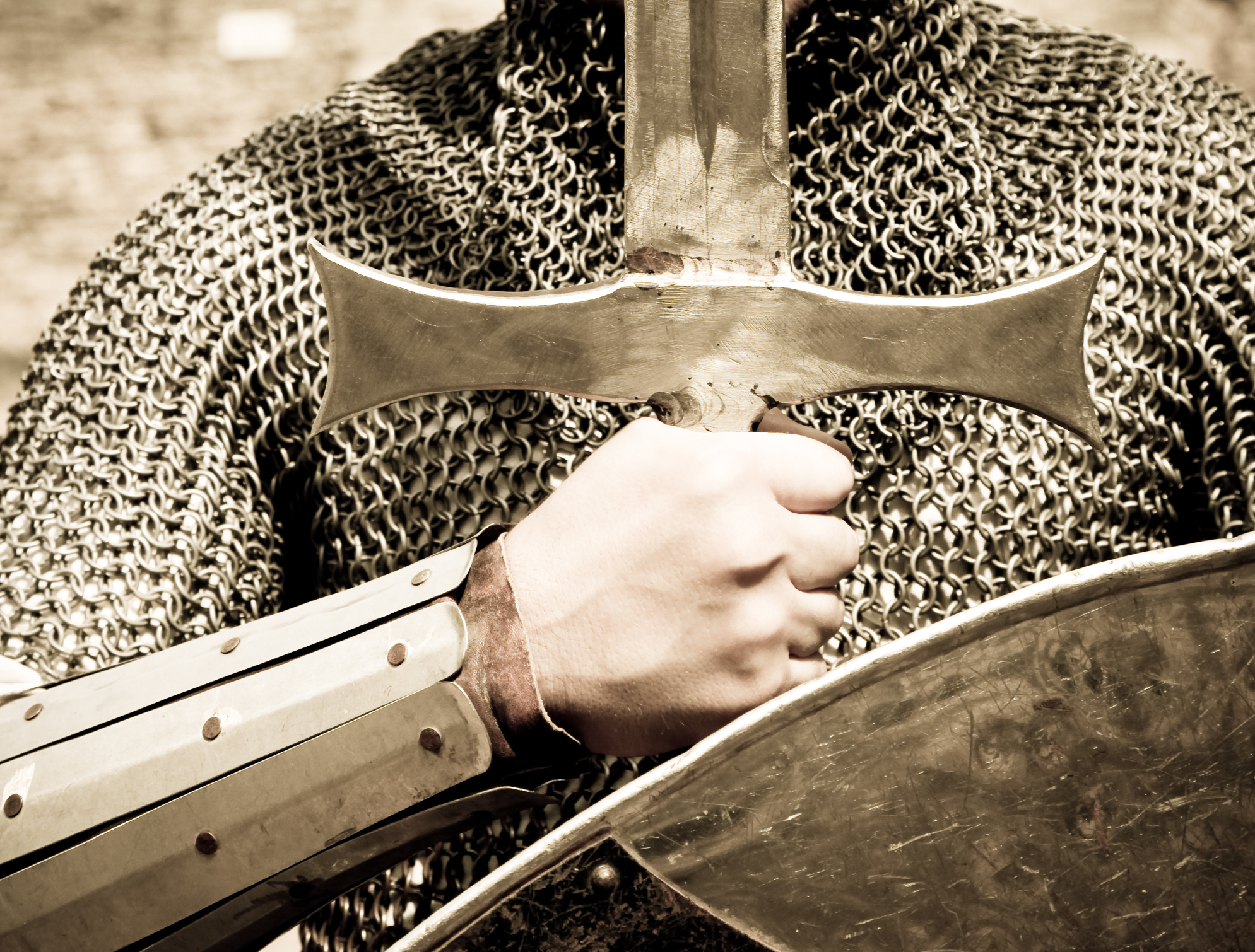 Stand, Put On The Whole Armor of God