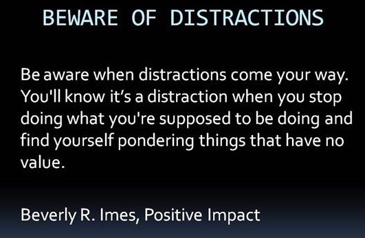 Distractions, Attacks,