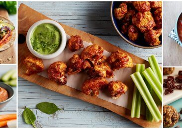 Super Bowl 2017, Crispy Buffalo Cauliflower Bites for the Super Bowl
