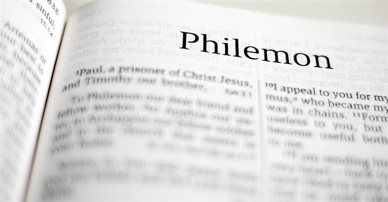 The Book of Philemon