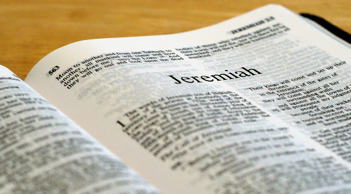 """""""The Book of Jeremiah"""""""