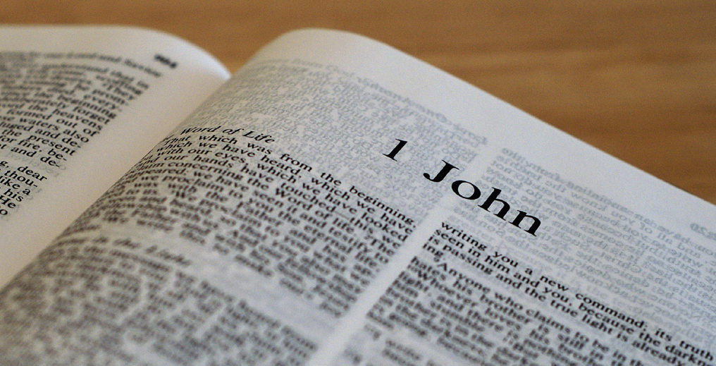 """""""The Book of 1st John"""" Bible Reading"""