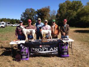 2013 Shooting Dog Winners -- small group