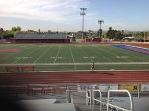 Arcadia High School track, Phoenix, AZ