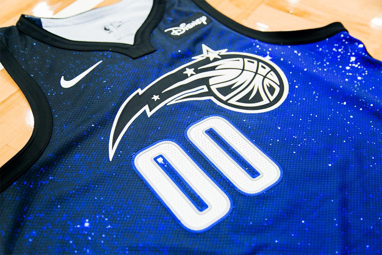 new concept 324a8 806a2 Novo uniforme do Orlando Magic homenageia a magia do céu da ...