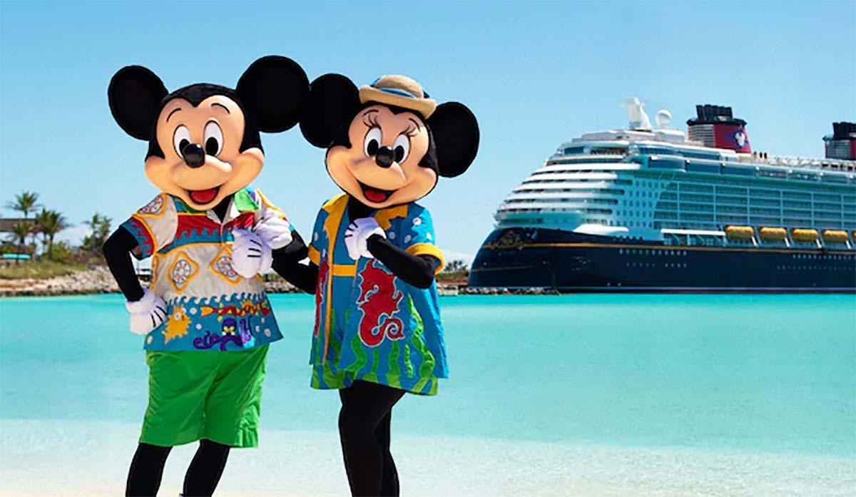 Disney Cruise Line divulga itinerários de seus cruzeiros para 2022