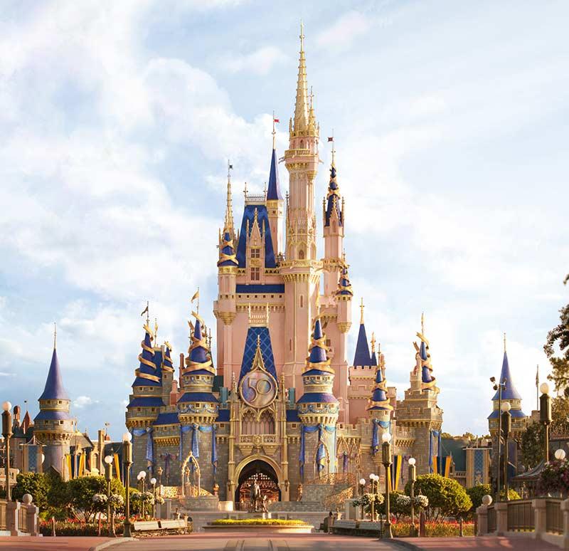 Novo castelo da Cinderela