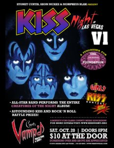 KISS Night in Las Vegas VI - October 20, 2018 - Count's Vamp'd