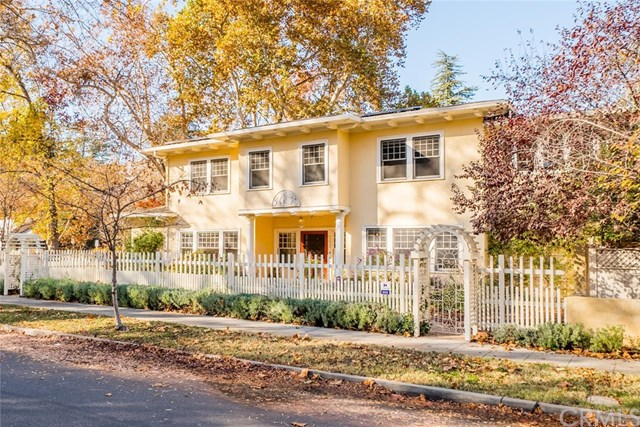 Homes in Downtown Chico & Mansion Park