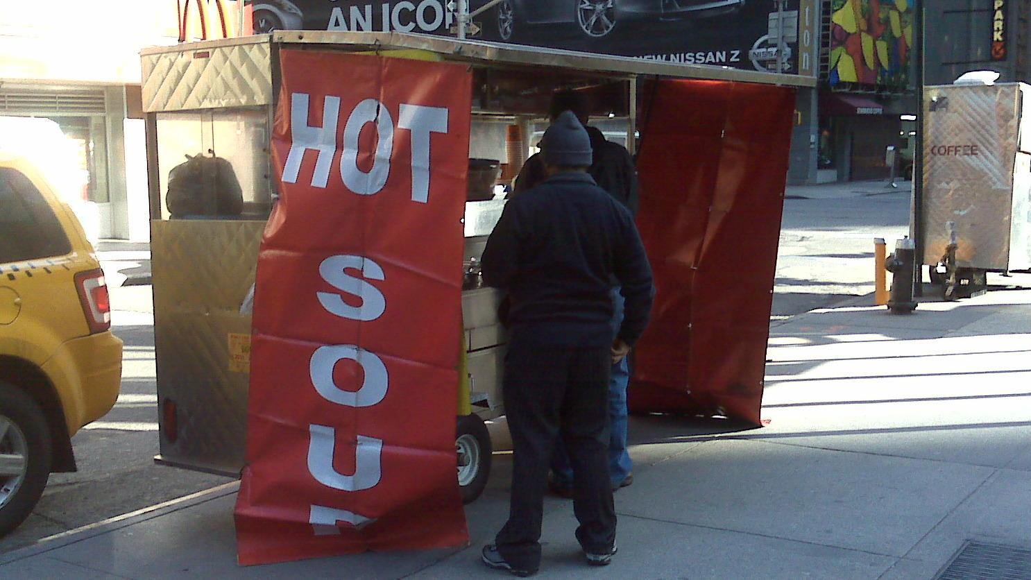 Best Soup Stand In Manhattan