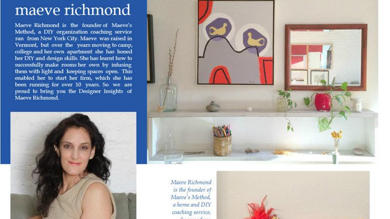 Designer Insights With Maeve Richmond