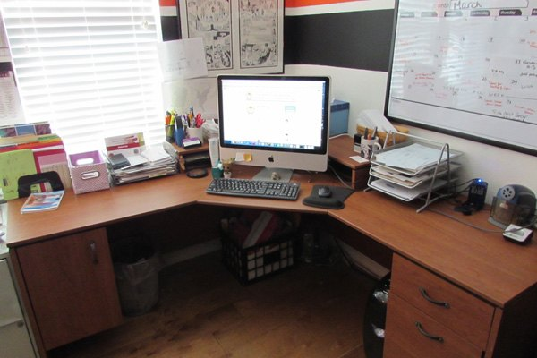 Ask Maeve: How Can My Husband And I Comfortably Share A Home Office?