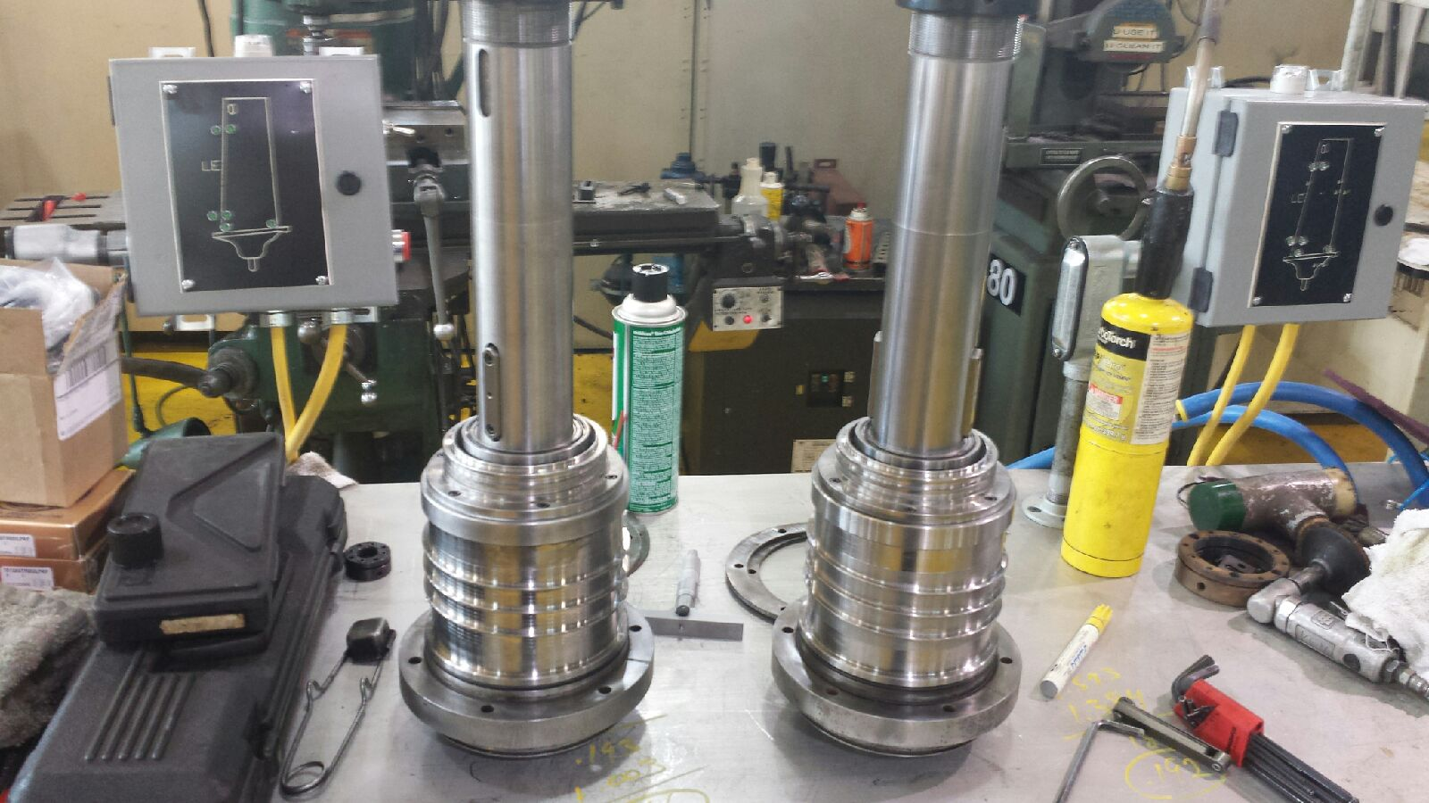Twin Spindle Rebuild