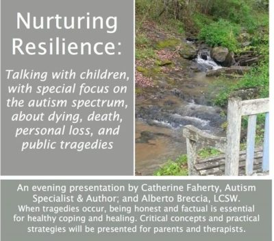 Catherine Faherty Workshop on Death and Dying