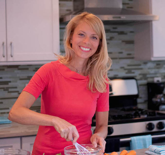 Hey there! I'm Carrie – a food enthusiast, recipe developer, former caterer, busy working mom, & the woman behind Talkingmeals.com! Click image to read more!