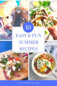 Now that Summer is officially here, it's time for some easy, bright, sunny, Summer Recipes. Here are 10 Summer recipes are delicious, fun, easy, interesting and unique, and sometimes messy because that is what Summer is about! From Moroccan Meatball Pitas to Mushroom & Black Bean Tostadas, these are some of my favorites to eat outside with friends and family.