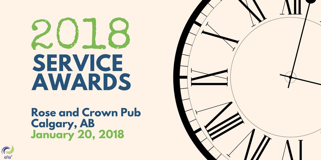 2018 Service Awards