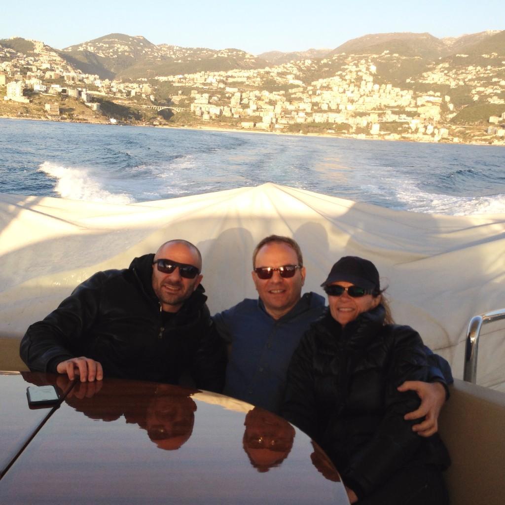 Jounieh Bay boat ride