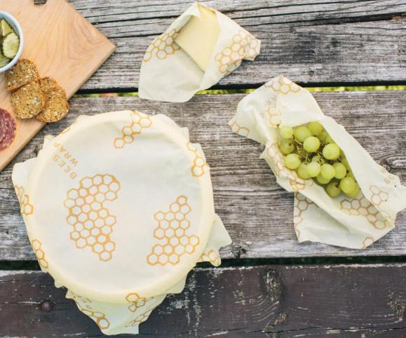 Bee's Wrap Reusable Wraps (bees wrap.com)