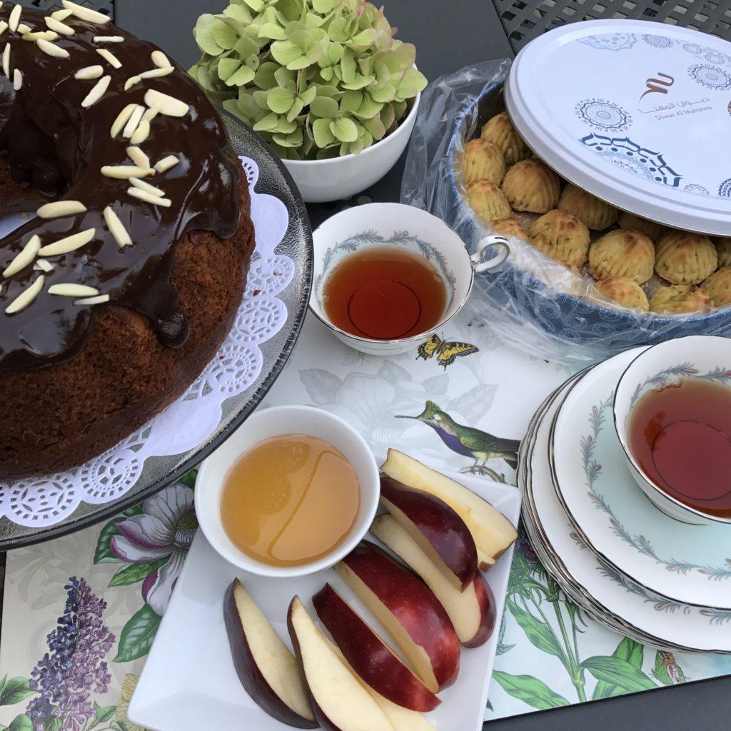 Honey Cake With Chocolate Glaze