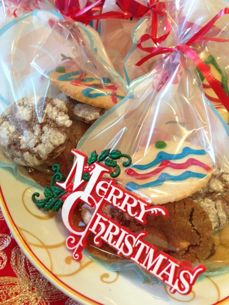 Homemade Cookies as Take-Away Gifts