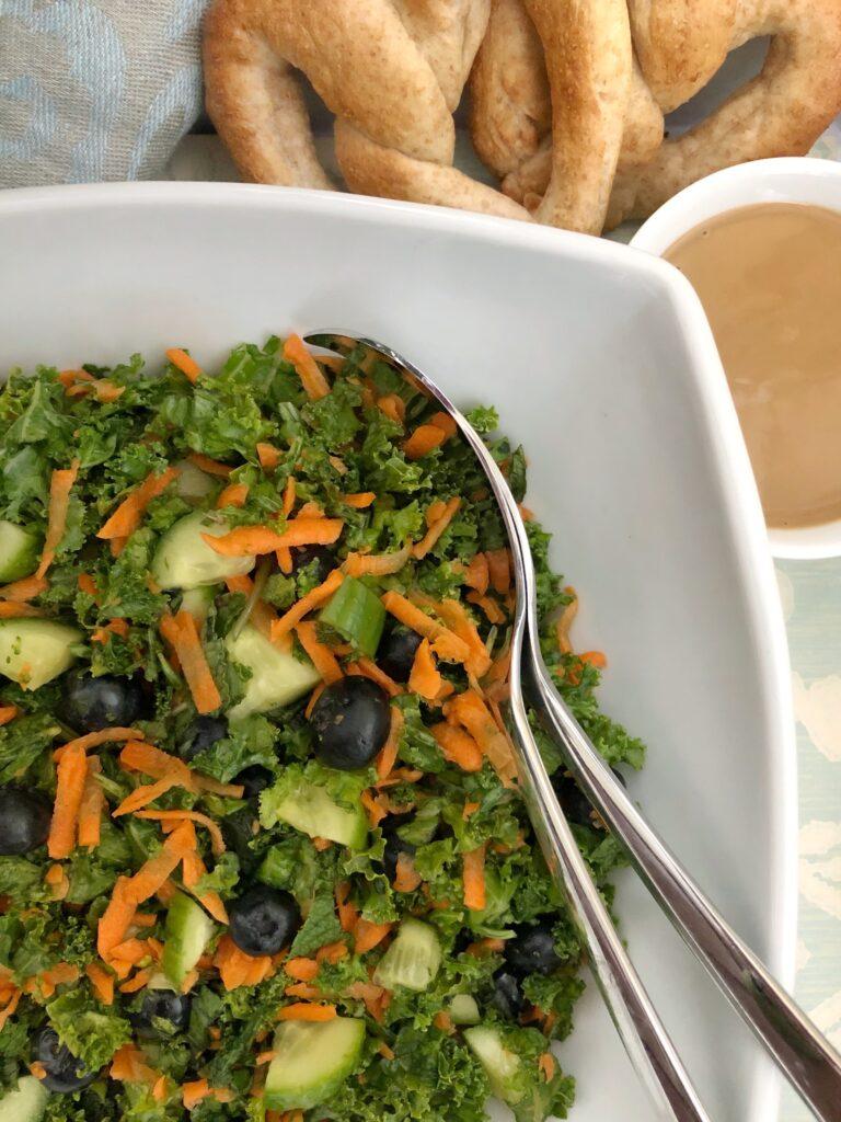 Kale Salad With Mint