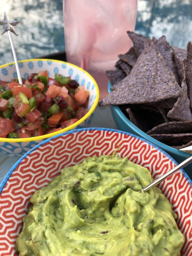 Guacamole Made With Cilantro