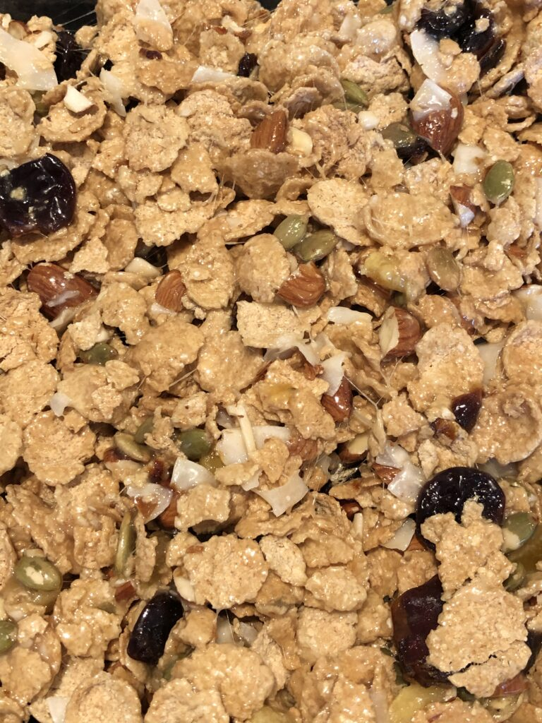 Oat Bran Cereal & Dried Fruit Bars