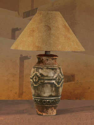 Southwest Table Lamp H-6188