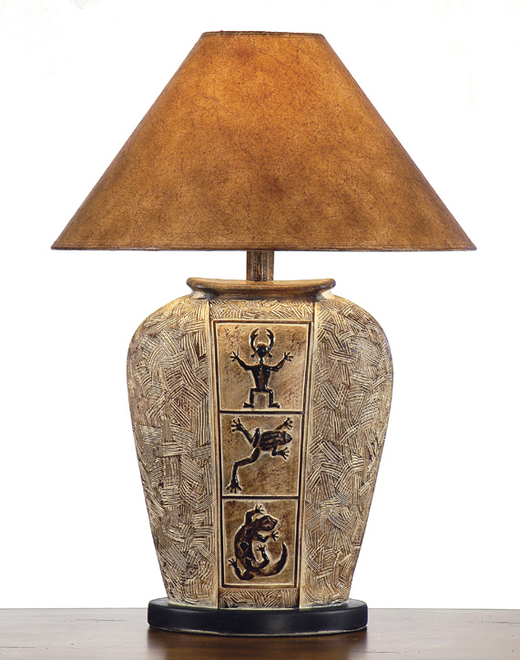 AH-6234-DSB, Southwest Table Lamp