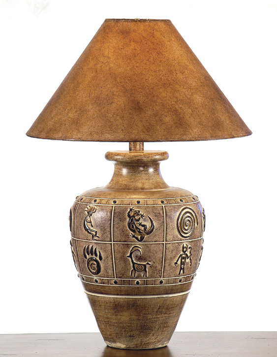 AH-6236-DSB, Southwest Table Lamp